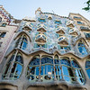 Architecture designed by Antoni Gaudi, Barcelona