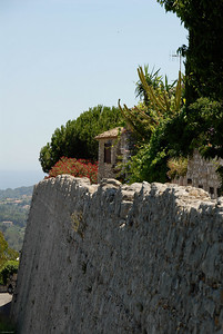 St Paul de Vence wall