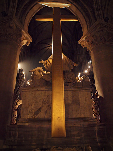 Notre Dame Cathedral in Paris - 17 Nov 2011