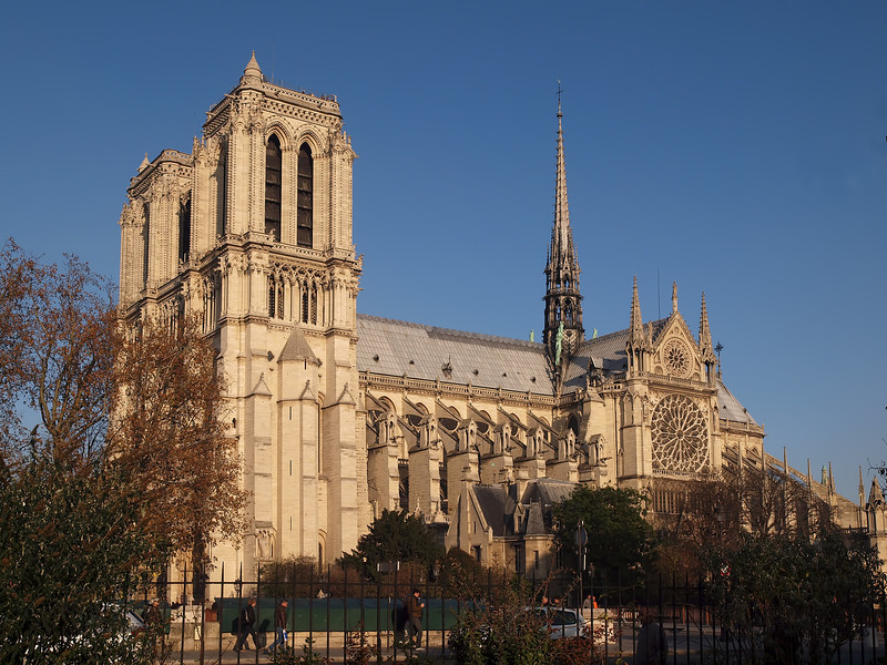 Church of Notre Dame in Paris - 15 Nov 2011