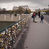 Bridge of Locks across the Seine in Paris - 17 Nov 2011