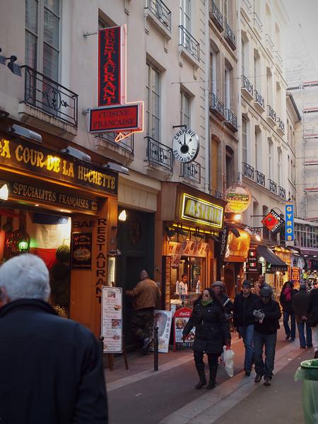 Street Scene in Paris - 15 Nov 2011