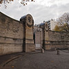 Entrance to Pere Lachaise Cemetery in Paris - 18 Nov 2011