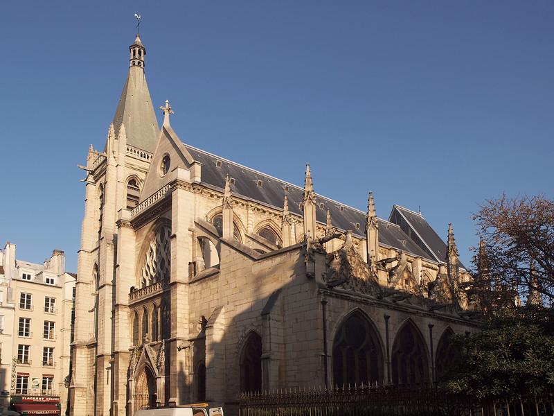 The Church of Saint Séverin in Paris - 15 Nov 2011