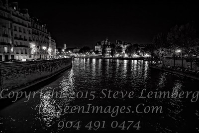 Paris - Seine at Night - Copyright 2016 Steve Leimberg - UnSeenImages Com _H1R9456