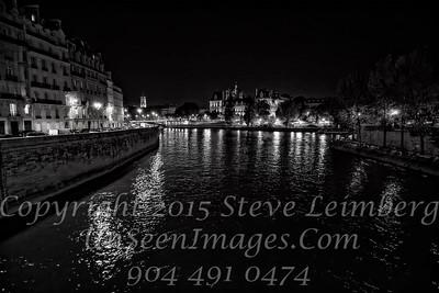 Paris - Seine at Night - Copyright 2016 Steve Leimberg - UnSeenImages Com _H1R9456