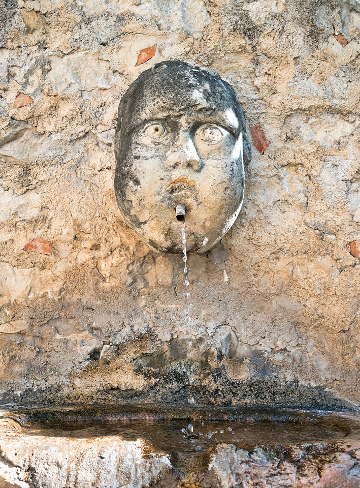 Old Face Fountain
