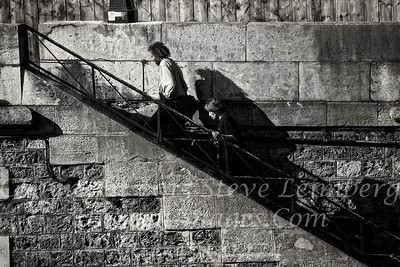 Walking up from the Seine - Copyright 2016 Steve Leimberg - UnSeenImages Com _H1R9938
