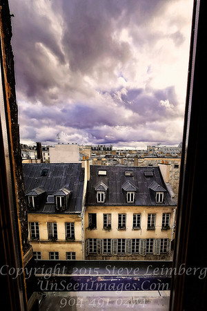 Looking Down at Paris - Copyright 2016 Steve Leimberg - UnSeenImages Com _H1R8360