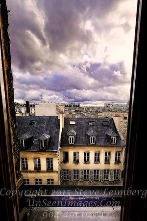 Looking Down at Paris - Copyright 2016 Steve Leimberg - UnSeenImages Com _H1R8360