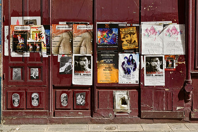 Wall of Signs in Paris Copyright 2020 Steve Leimberg UnSeenImages Com _L8I5511