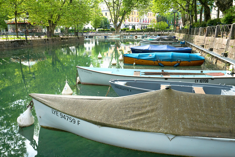 Boats in Annecy