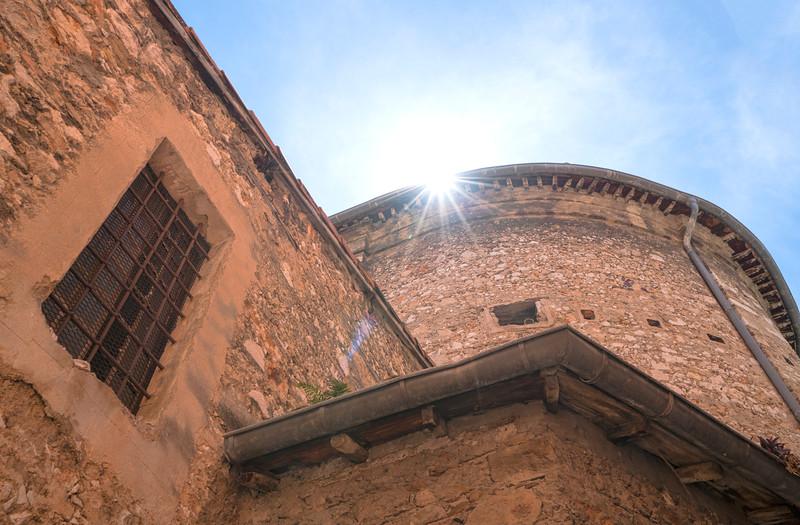 Villefranche sur Mer Church Walls