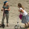 Girls Chatting in Paris - Copyright 2016 Steve Leimberg - UnSeenImages Com _H1R1868