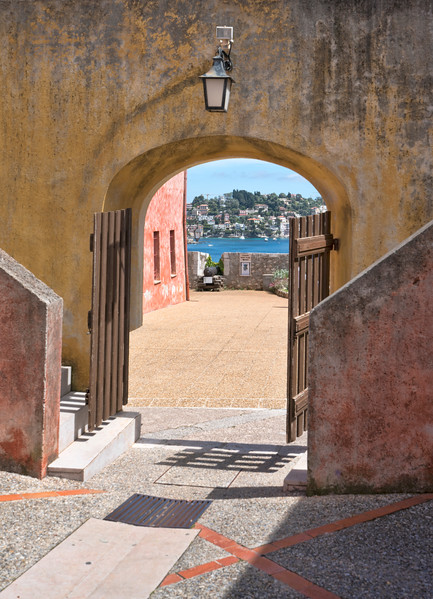 Villefranche Archway