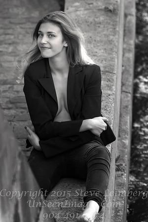 Beautiful Woman on the Seine - Copyright 2016 Steve Leimberg - UnSeenImages Com _H1R9310
