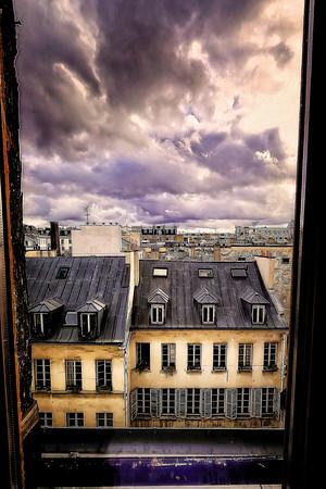 Looking Down at Paris - Copyright 2020 Steve Leimberg - UnSeenImages Com _8360