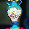 Cupid Vase in Window - Paris - PAINTING - Copyright 2016 Steve Leimberg - UnSeenImages Com File0683
