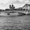 Notre Dame from Seine - PAINTING B&W Copyright 2016 Steve Leimberg  - UnSeenImages Com _DSC4871