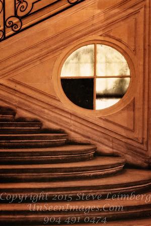 Staircase Paris II - Copyright 2016 Steve Leimberg - UnSeenImages Com File0081