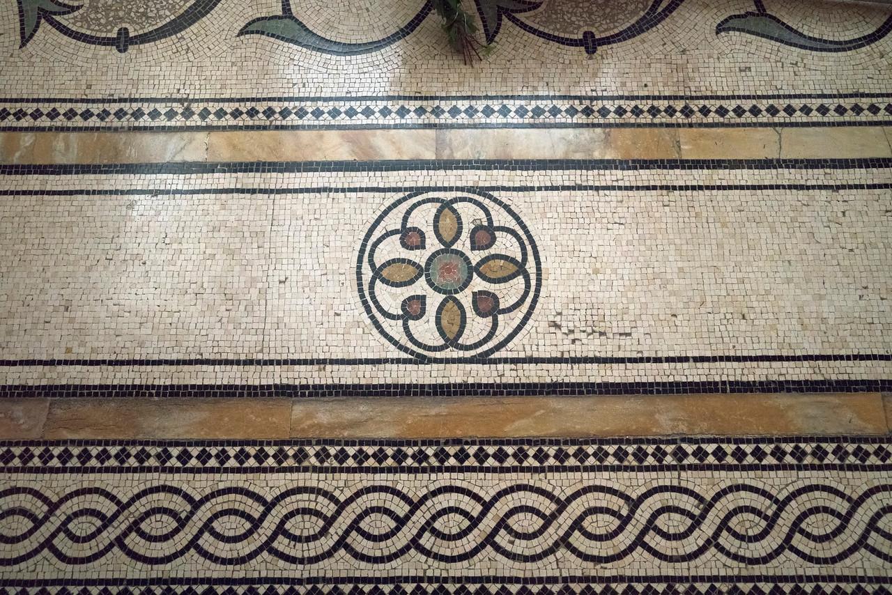 Mosaic Floor Detail