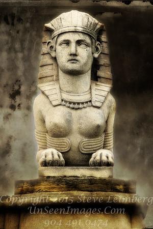 Paris Sphinx at Louvre - Copyright 2016 Steve Leimberg - UnSeenImages Com File0670