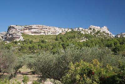 Les Baux castle, Les Baux de Provence, France 23 August 2014