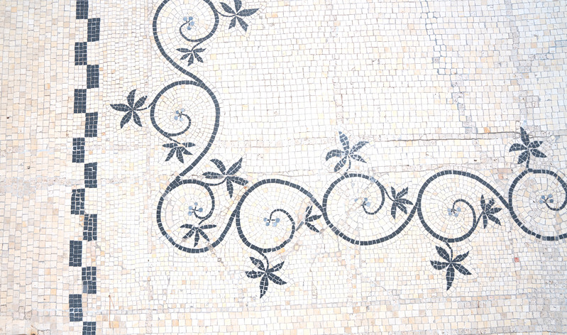 Mosaic Floor Detail 2, Rothschild