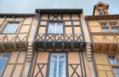 13th Century Half Timber Houses