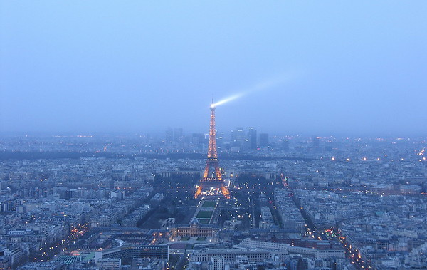 Tour Eiffel, seen from Tour Montparnasse