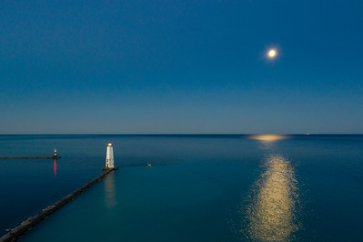 Frankfort Moon Aerial