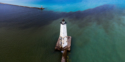 Over Frankfort Lighthouse