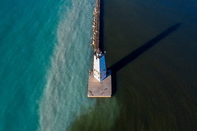 North Breakwater Light Aerial