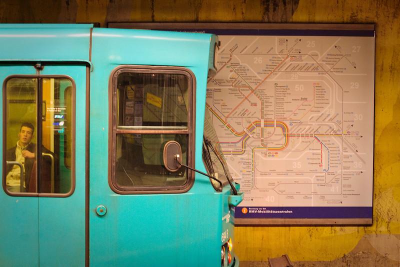 Kornstablewache<br /> <br /> Subway station in Frankfurt