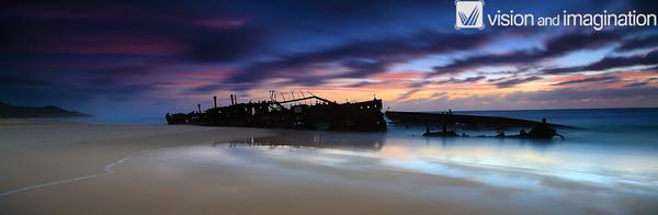 Maheno - Fraser Island 3:1 Ratio