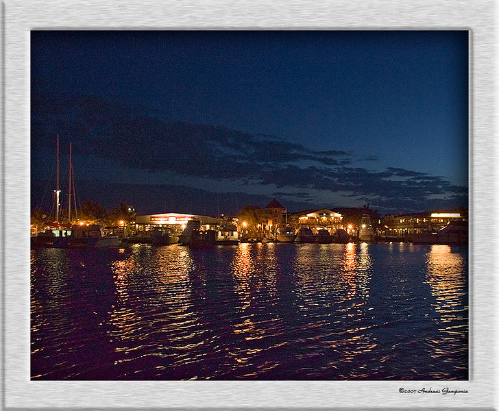 Returning to Schooner Wharf after a beautiful sunset cruise off the coast of Key West