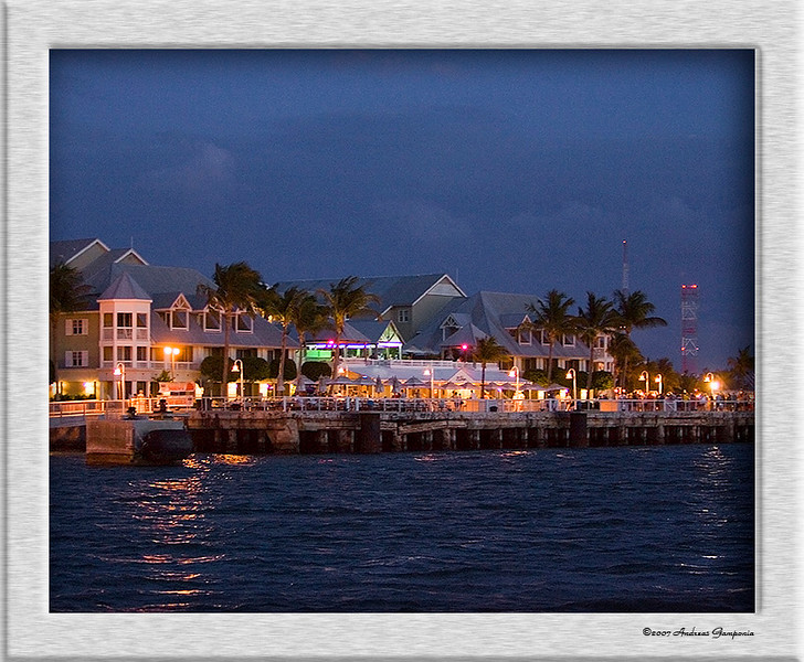 Returning to sunset pier and the dock areas from a sunset cruise confirms that the night's merriment and festivities are merely beginning