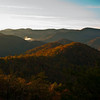 View from Double Top Mountain, near Sylva, North Carolina