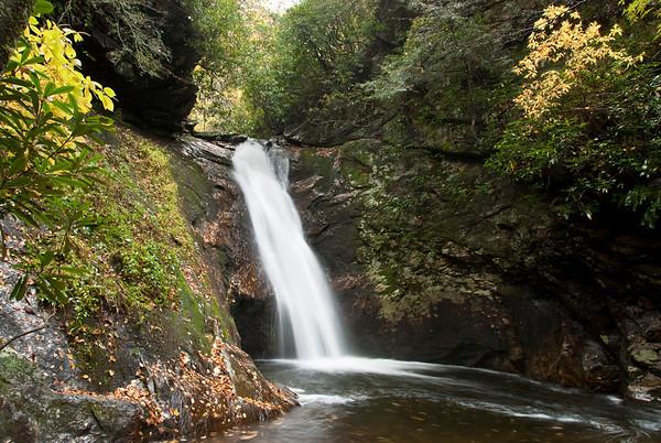 Courthouse Falls, Pisgah National Forest, North Carolina