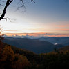 Sunrise Point, Double Top Mountain, near Sylva, North Carolina
