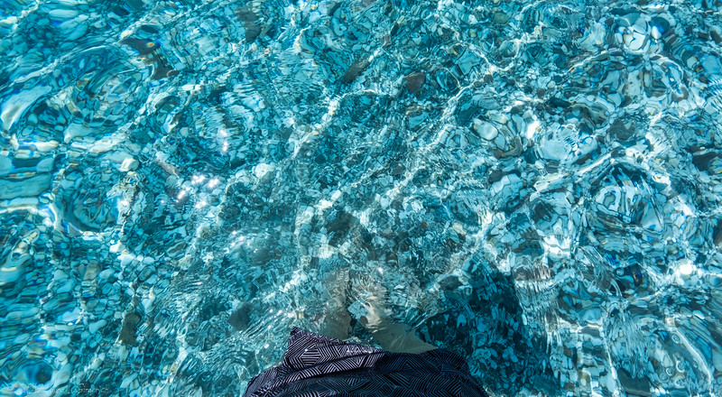 The Sea of Crete is beyond clear,  it's glass-like.