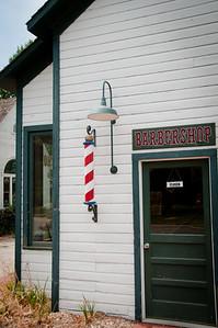 Barber shop, Old Prairie Town