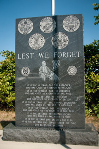 Monument to veterans, Half-Day Cemetery