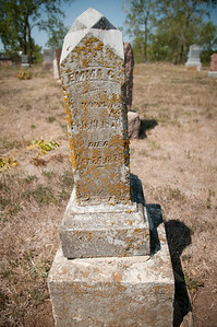Old gravestone dated 1878.