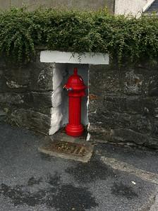 Gaeltacht fire hydrant
