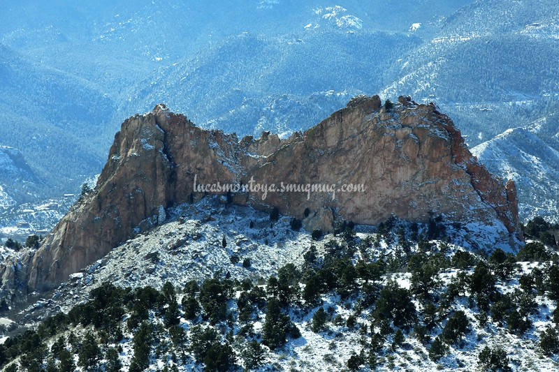 Garden of the Gods & Pikes Peak, Colorado - 20 February 2019