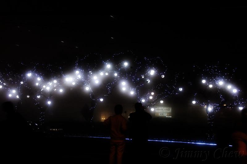 Night lights.