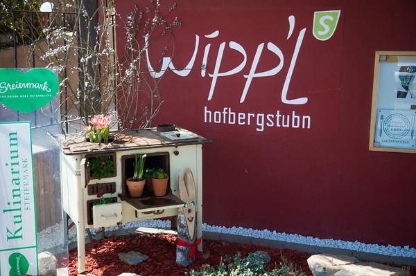 Erster Einkehrschwung: Hofbergstubn' Wippel mit Mini-Weinverkostung