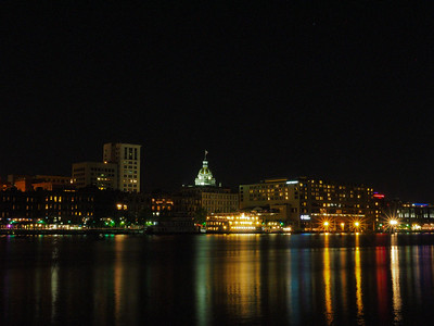 Savannah riverfront