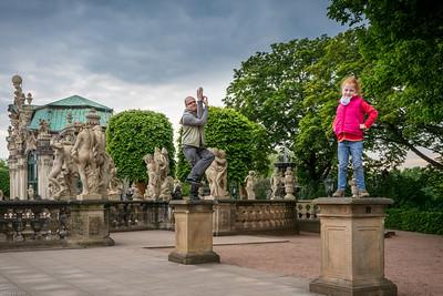 Barocke Statuen / Baroque Statues